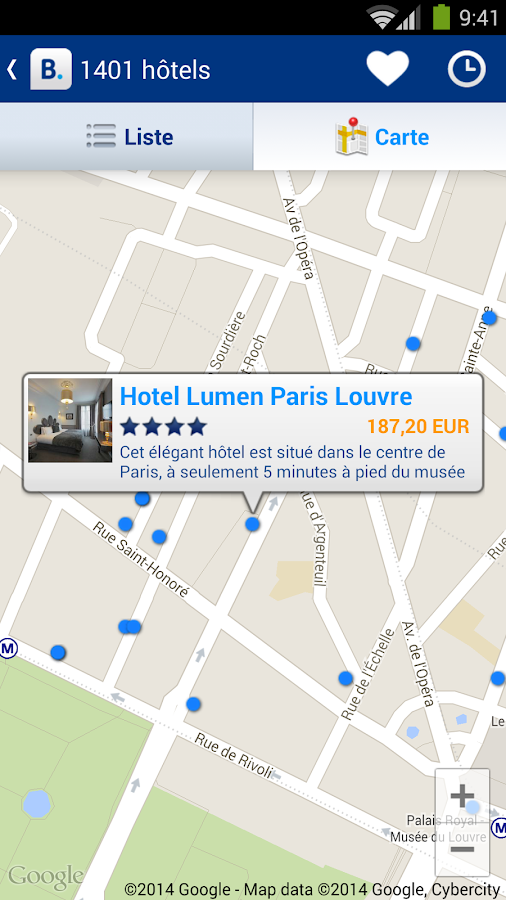 Booking.com - 750 000+  hôtels – Capture d'écran
