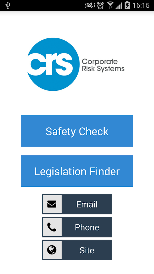 SafetyCheck by CRS- screenshot