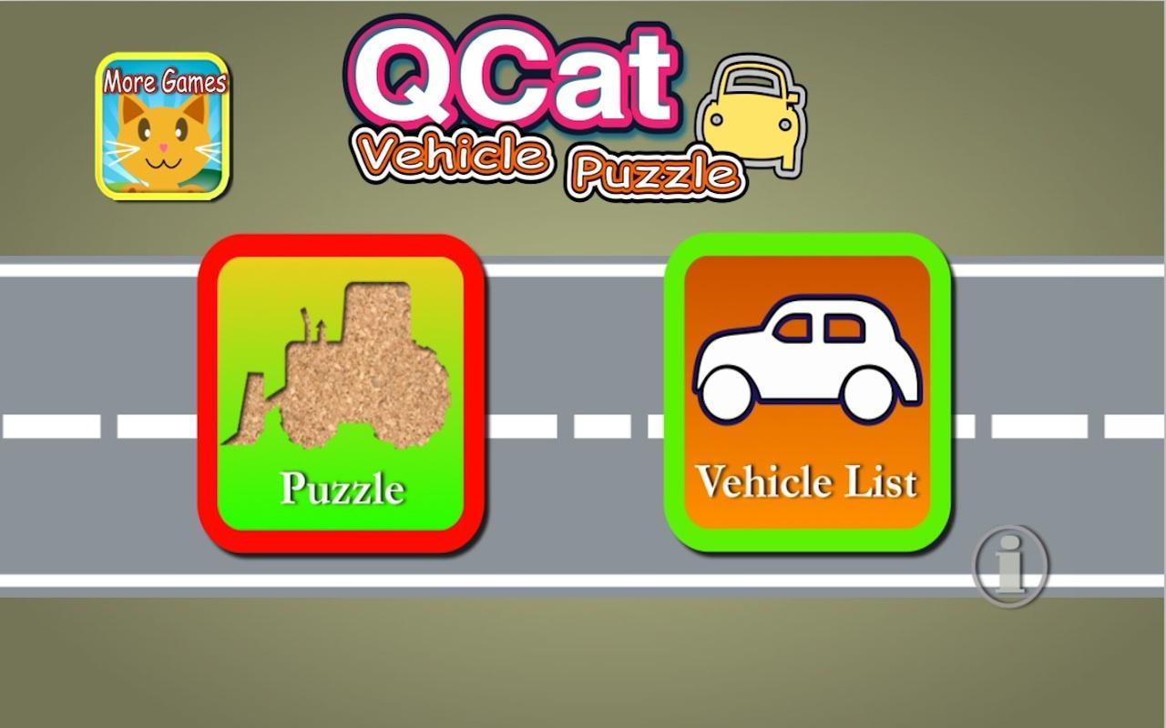 toddler car puzzle for kids screenshot