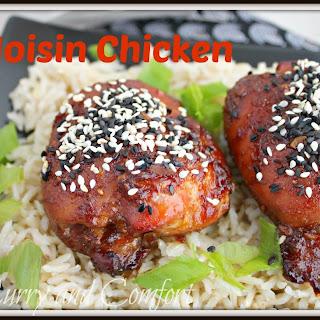 Spicy Hoisin Chicken (Throwback Thursday).