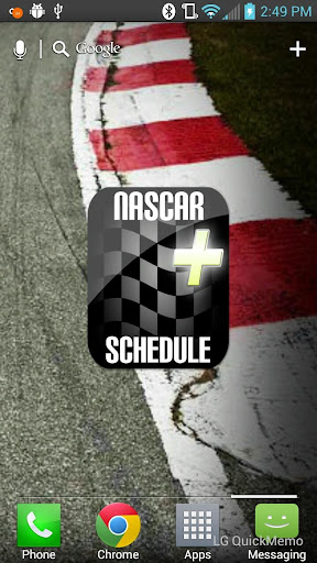 NASCAR Schedule Plus