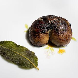 Grilled Lamb Kidneys with Crispy Sage.