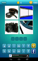 Screenshot of 4 Pics 1 Word: What's The Word