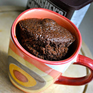 Chocolate Cake in a Cup.