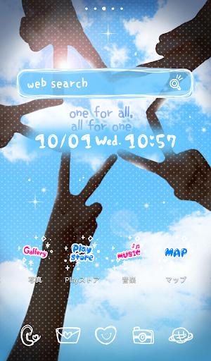 【免費個人化App】可愛換裝桌布★We are friends-APP點子
