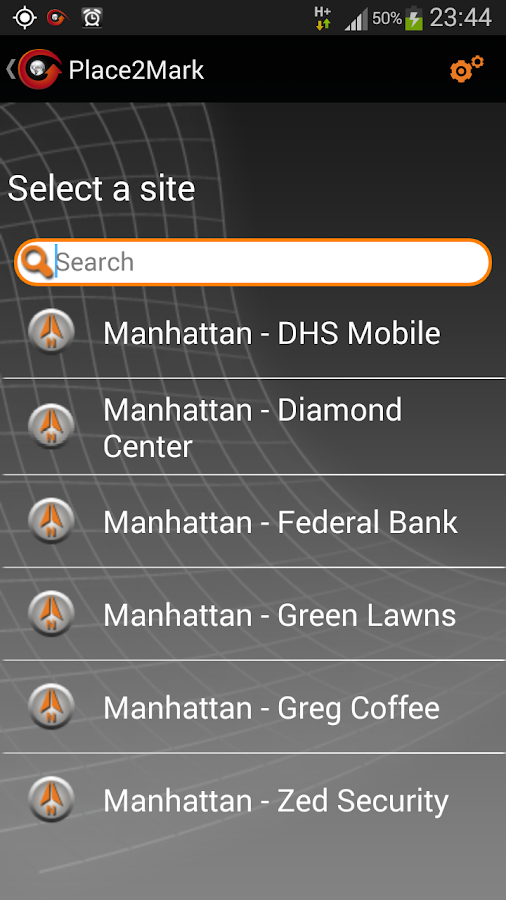 Place2Mark - screenshot