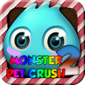 Monsters Pet Crush 2 - Match 3