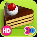 Торта 3D - Детские игры icon