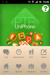 PTE UniPhone – A PTE Iránytűje- screenshot thumbnail