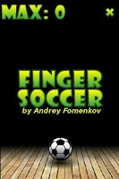 Screenshot of Finger Soccer Sport