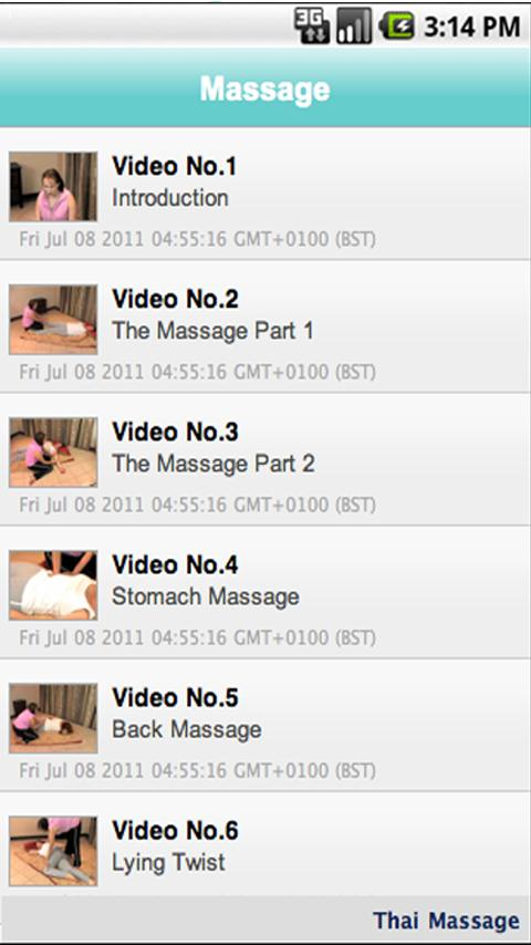 Learn How to Massage- screenshot