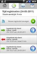Screenshot of Zorg App voor de thuiszorg