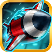 Tunnel Trouble - Space Jet 3D Games