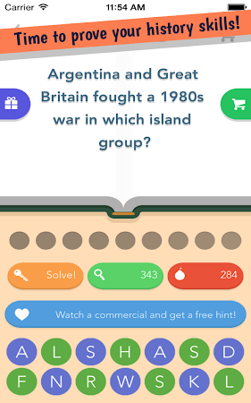 History Quiz 1.0.1 screenshot 1767654