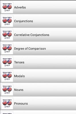 Rangkuman Bahasa Inggris SMP - screenshot