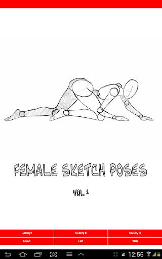 【免費娛樂App】Female Drawing Poses vol.1-APP點子