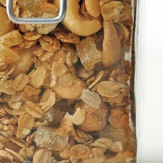 Cashew-Ginger Granola.