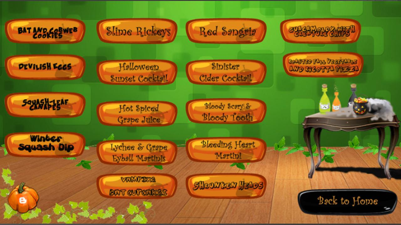 Halloween Party Planner- screenshot