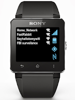 Screenshot of Toggles for SmartWatch