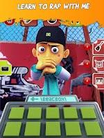 Screenshot of Talking Rapper Free