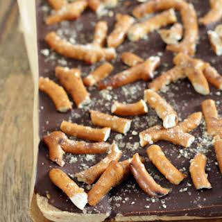 Chocolate Peanut Butter Pretzel Bars.