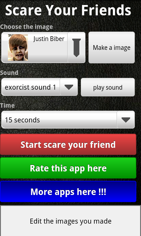 Scare your friends ! ! ! - screenshot