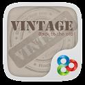 Vintage GO Launcher Theme icon