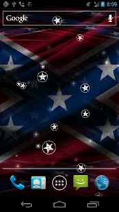 3D Rebel Flag Live Wallpaper - screenshot thumbnail