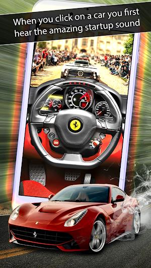 8 SuperCar Sounds App screenshot