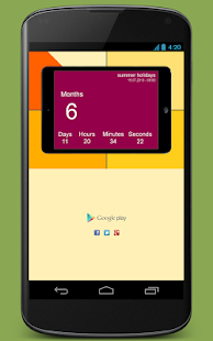 CountDown + Widget- screenshot thumbnail