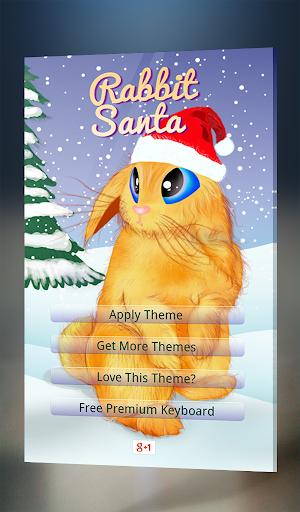 Rabbit Santa Claus Keyboard
