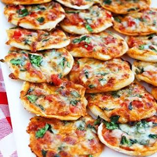 Make Your Own Mini Pizzas.