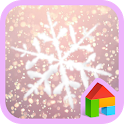 Snow Blossom Dodol Theme icon