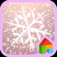 Snow Blossom Dodol Theme 4.1