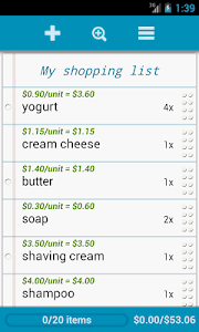 Grocery List Pro screenshot 1