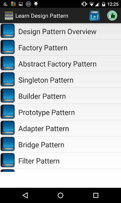 Learn design patterns - screenshot