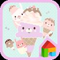 아쭈 아이스크림 도돌런처 테마 icon