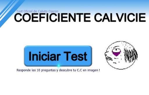 Coeficiente Calvicie