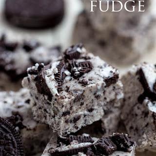 Cookies and Cream Fudge.