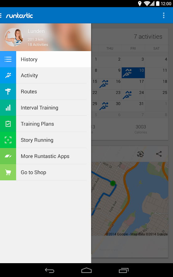 Runtastic Running PRO - screenshot