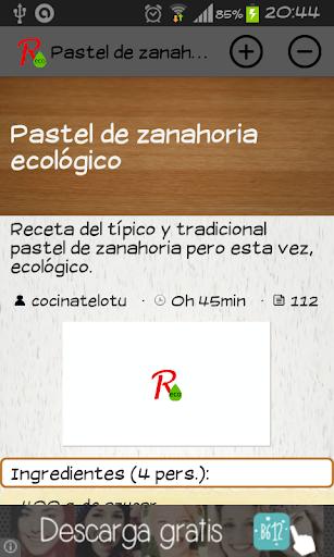 Recetas Ecológicas