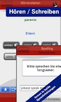 Screenshot of Englisch lernen mit WortFuchs