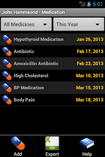 Cholesterol Tracker- screenshot thumbnail