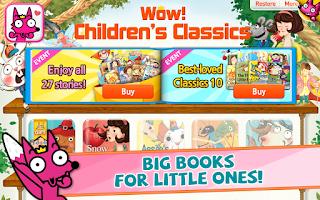 Screenshot of Wow! Children's Classics
