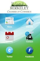 Screenshot of Berkeley Chamber of Commerce