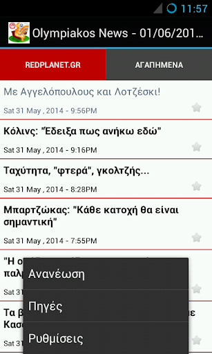 Olympiakos News