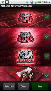Alabama Revolving Wallpaper - screenshot thumbnail