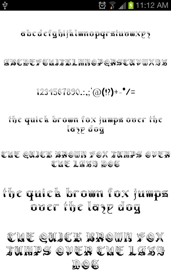 Download OldEng Fonts for FlipFont free - Android Apps on Google Play