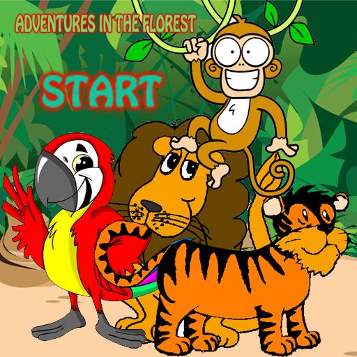冒險遊戲在森林裡 冒險 LOGO-玩APPs