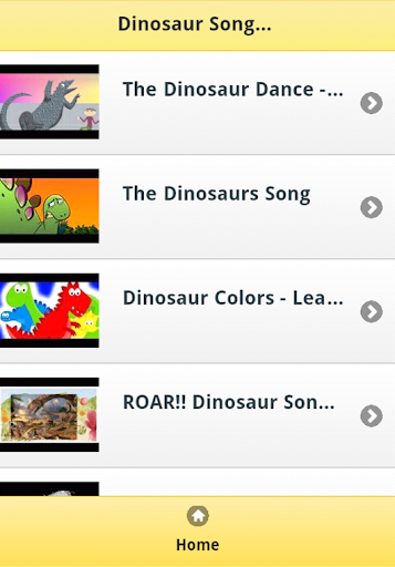 Dinosaur Songs for Kids